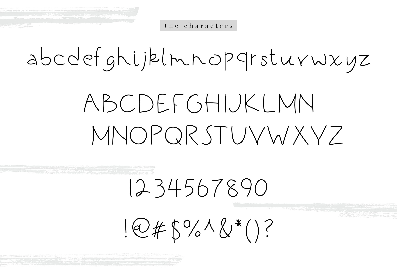 Black Kitten - A Handwritten Font example image 6