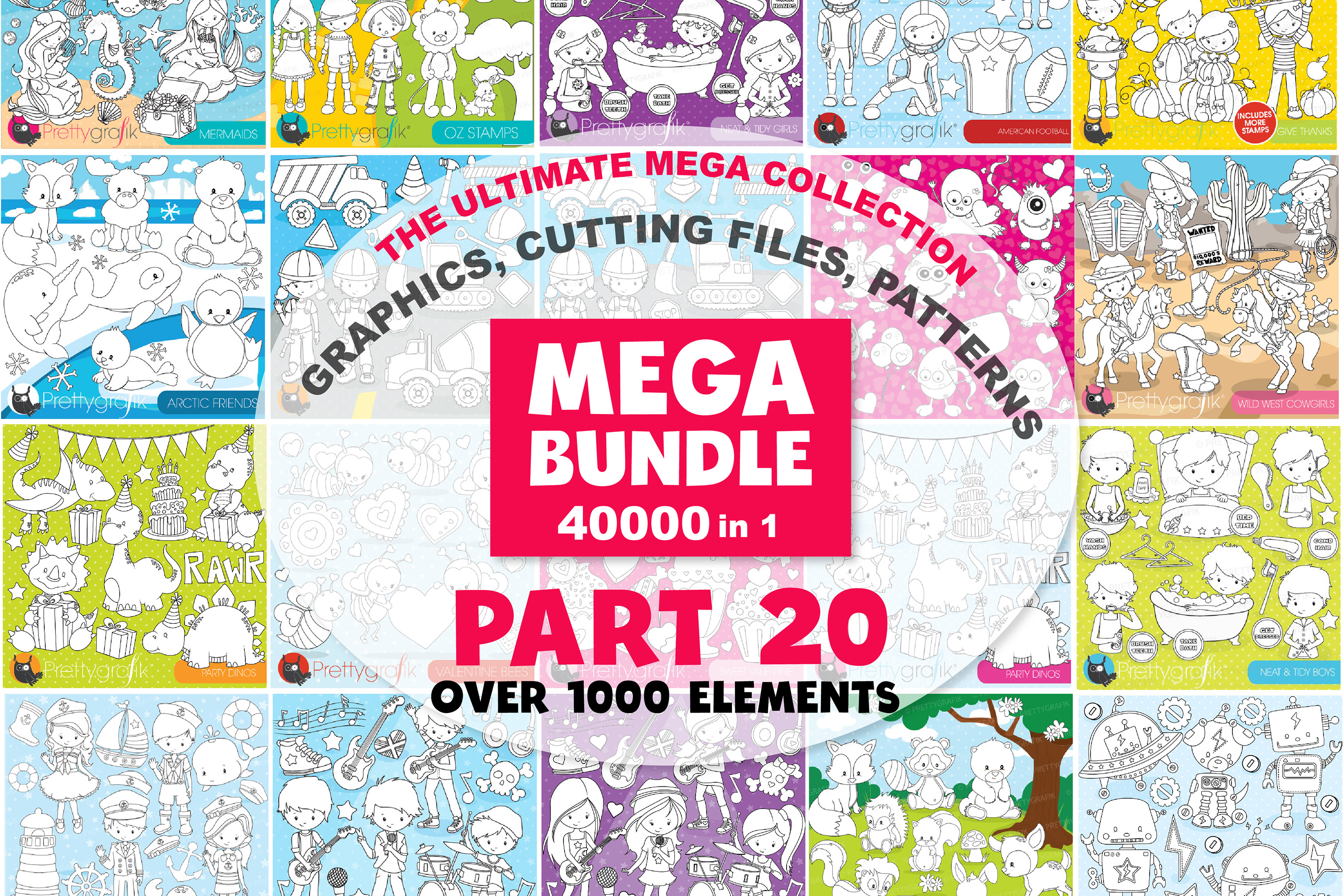 MEGA BUNDLE PART20 - 40000 in 1 Full Collection example image 1