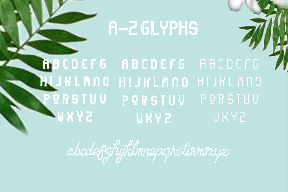 Hipstetic font family example image 4
