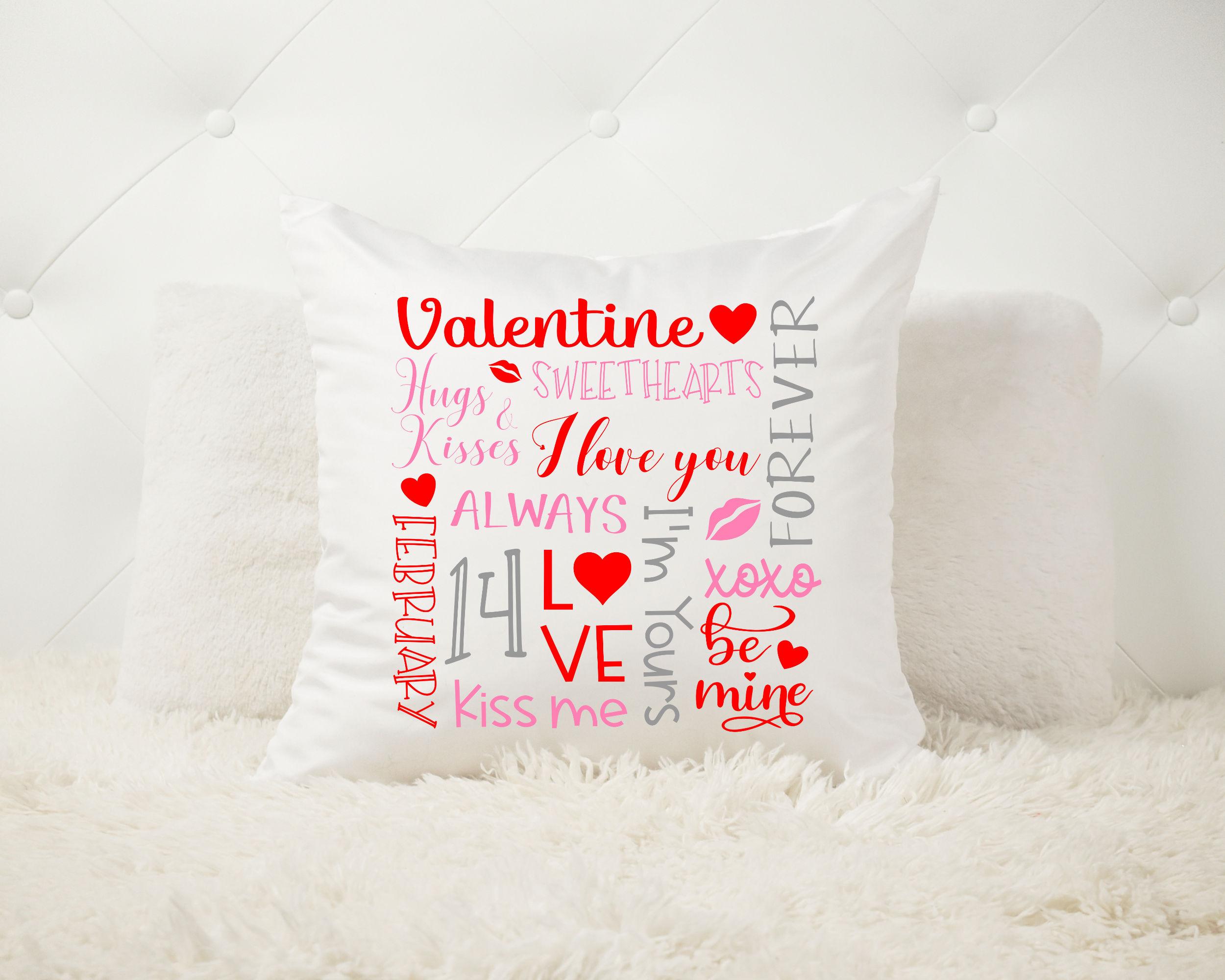Valentine Subway Art SVG - Valentine SVG example image 3