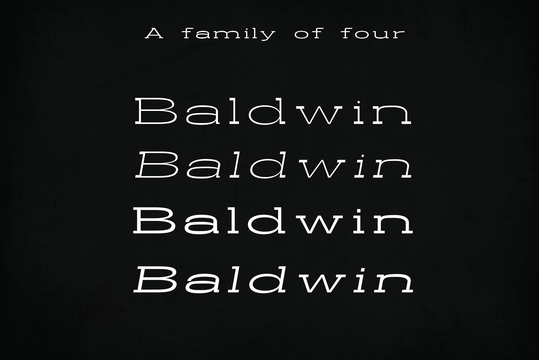 BALDWIN - A classy typeface example image 2