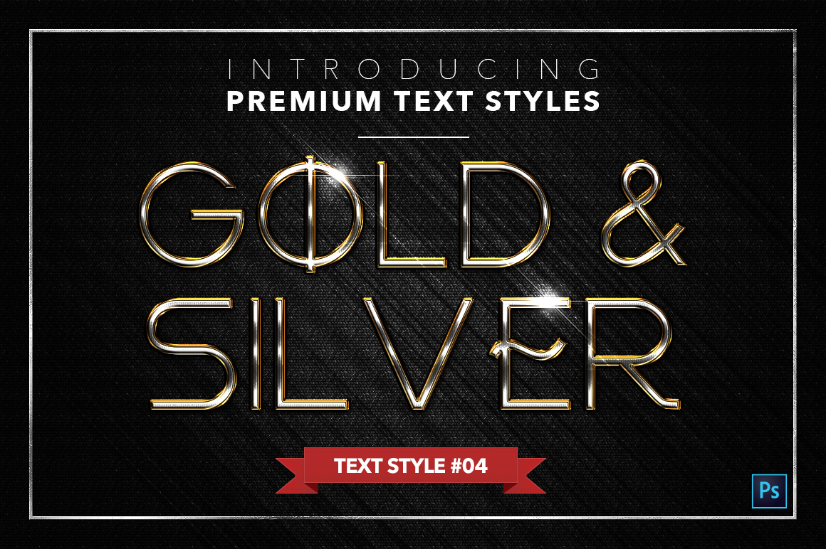 Gold & Silver #3 - 15 Text Styles example image 15