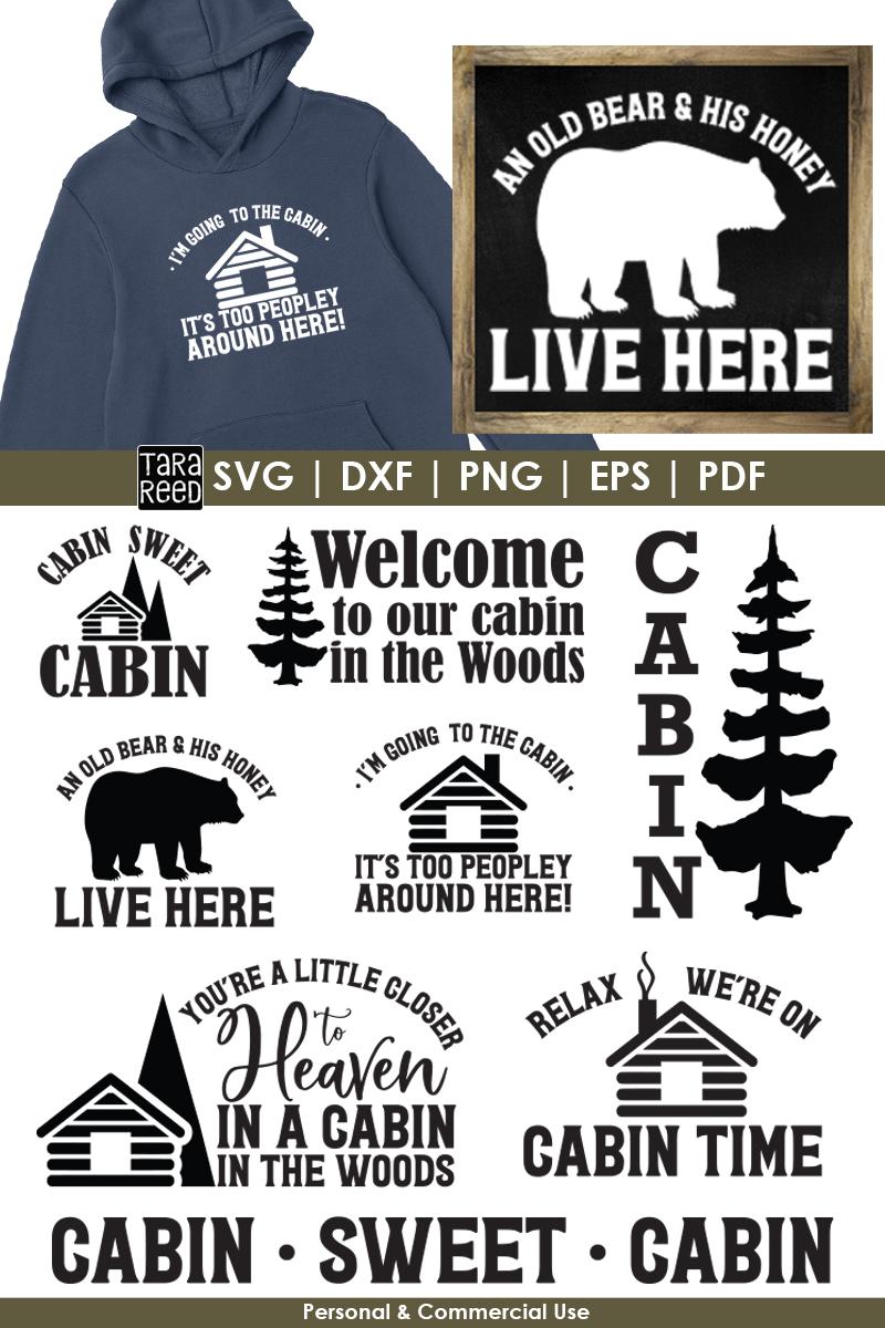 Cabin Sweet Cabin Bundle example image 3