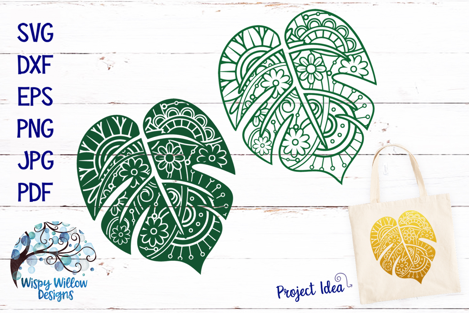 The Summer Zentangle SVG Bundle | Mermaid | Pineapple example image 5