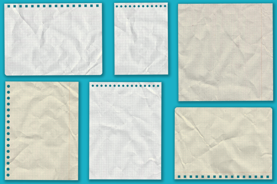 Notebook paper set example image 5