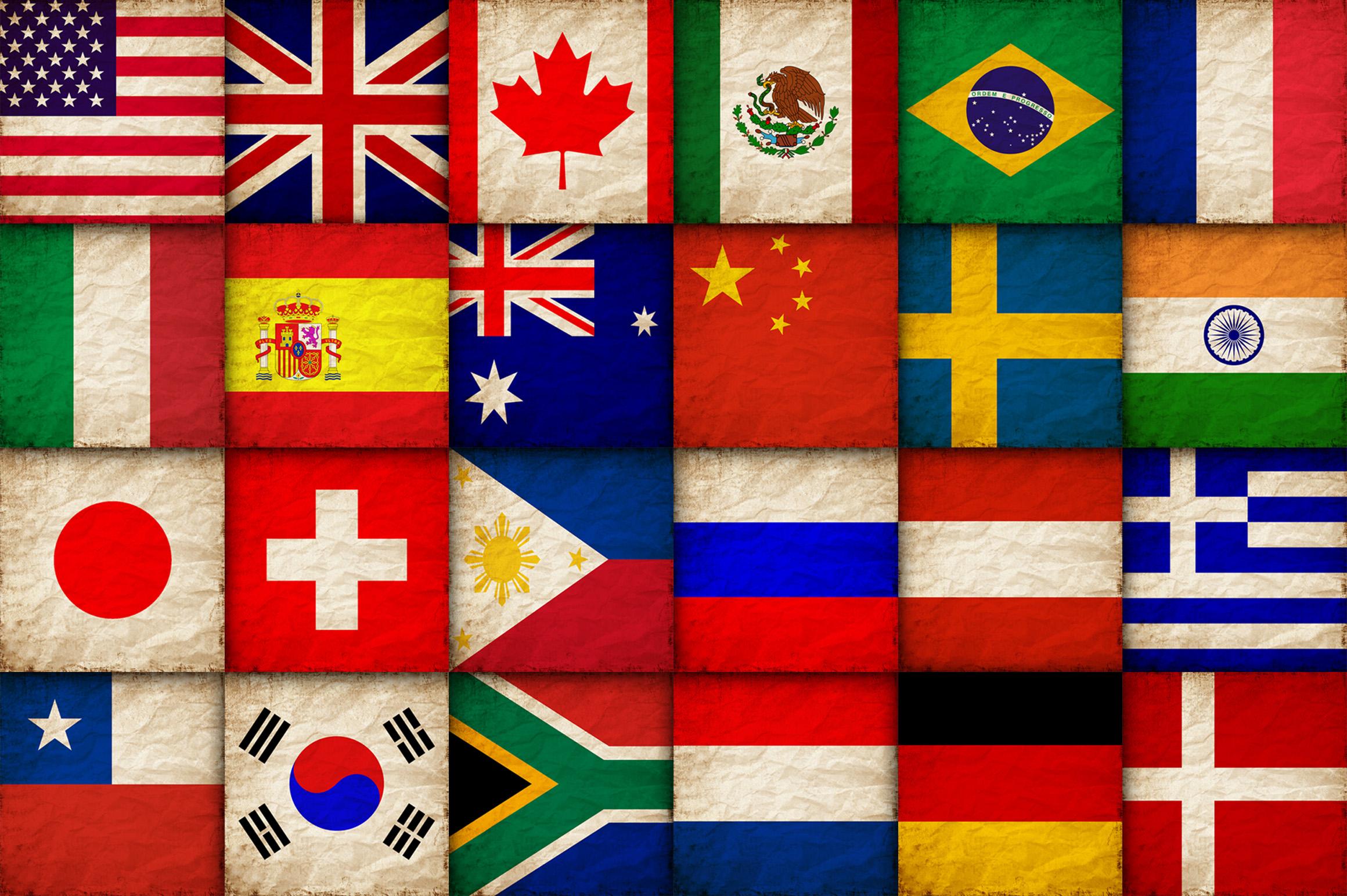 Паре, картинки флаги государств прикольные
