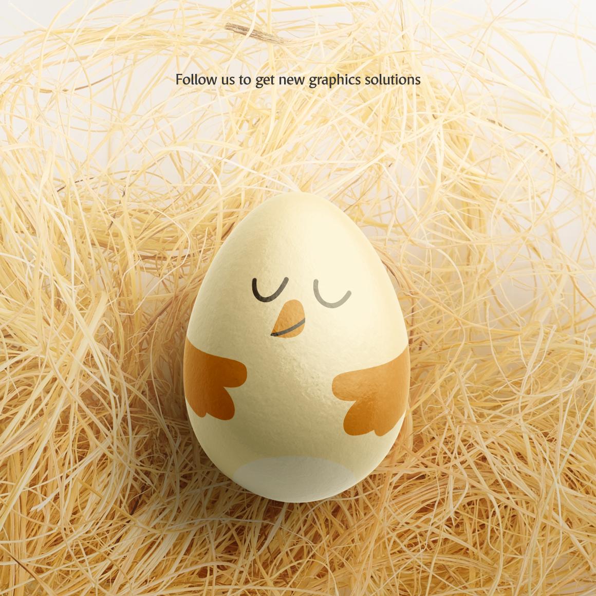 Easter Egg Mockup example image 7