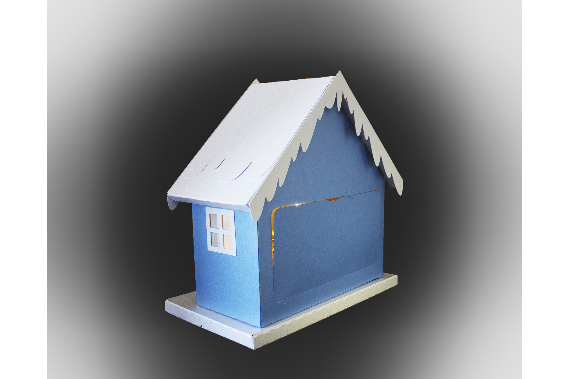 One more sleep Christmas house example image 2