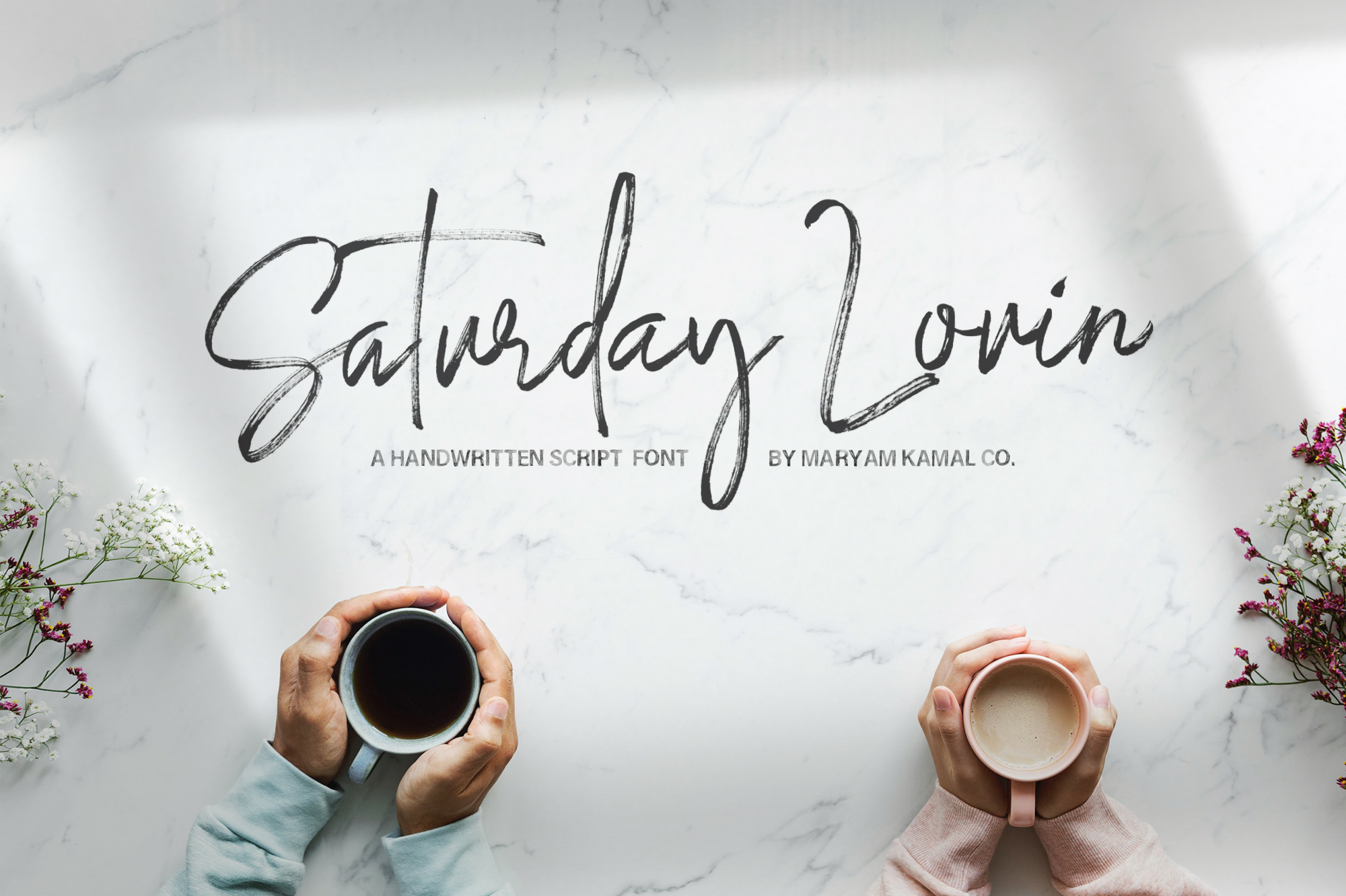 Saturday Lovin Font Collection example image 1