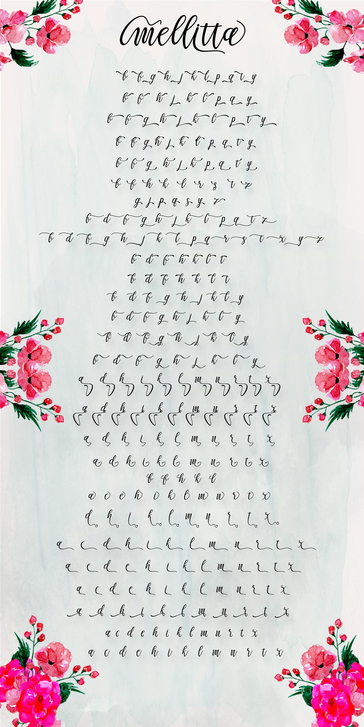 Mellitta Script example image 10
