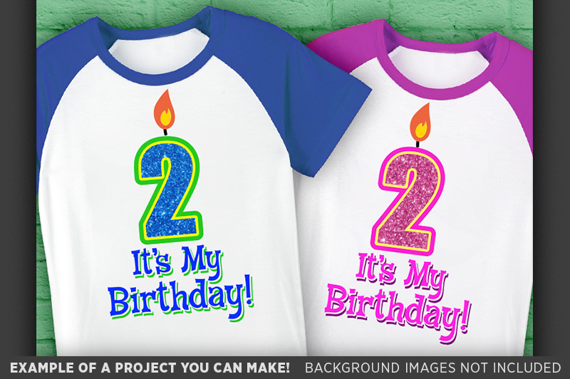 2nd Birthday SVG - Its My Birthday SVG Birthday Shirt - 1029 example image 3