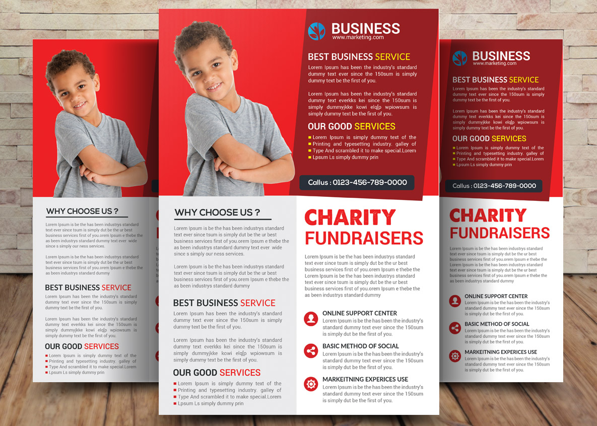 Charity Bundle Flyer 4in1 example image 4