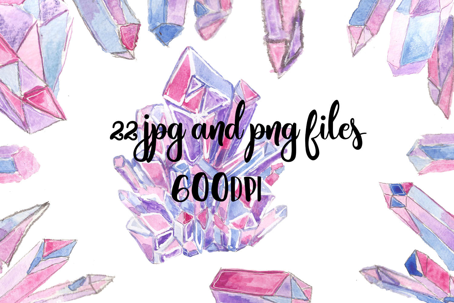 Crystals & Gems example image 3