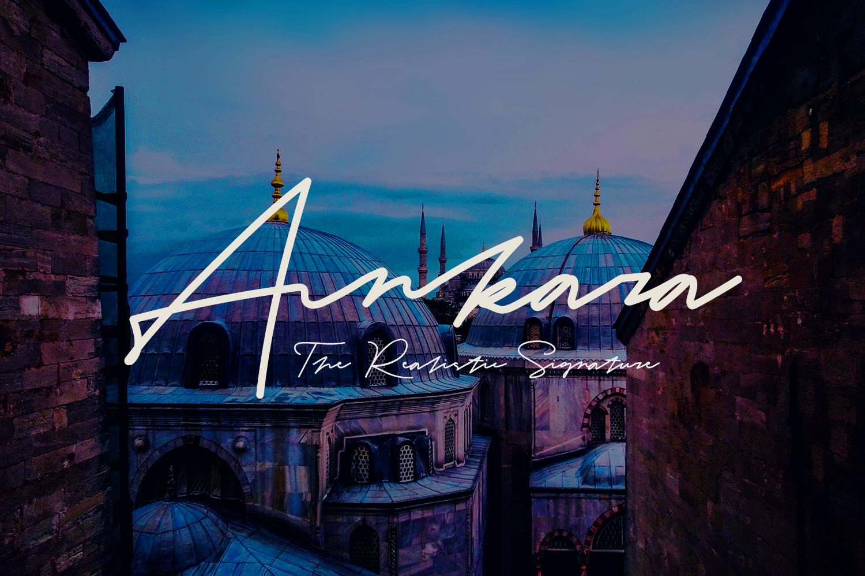 Ankara - The Realistic Signature example image 7