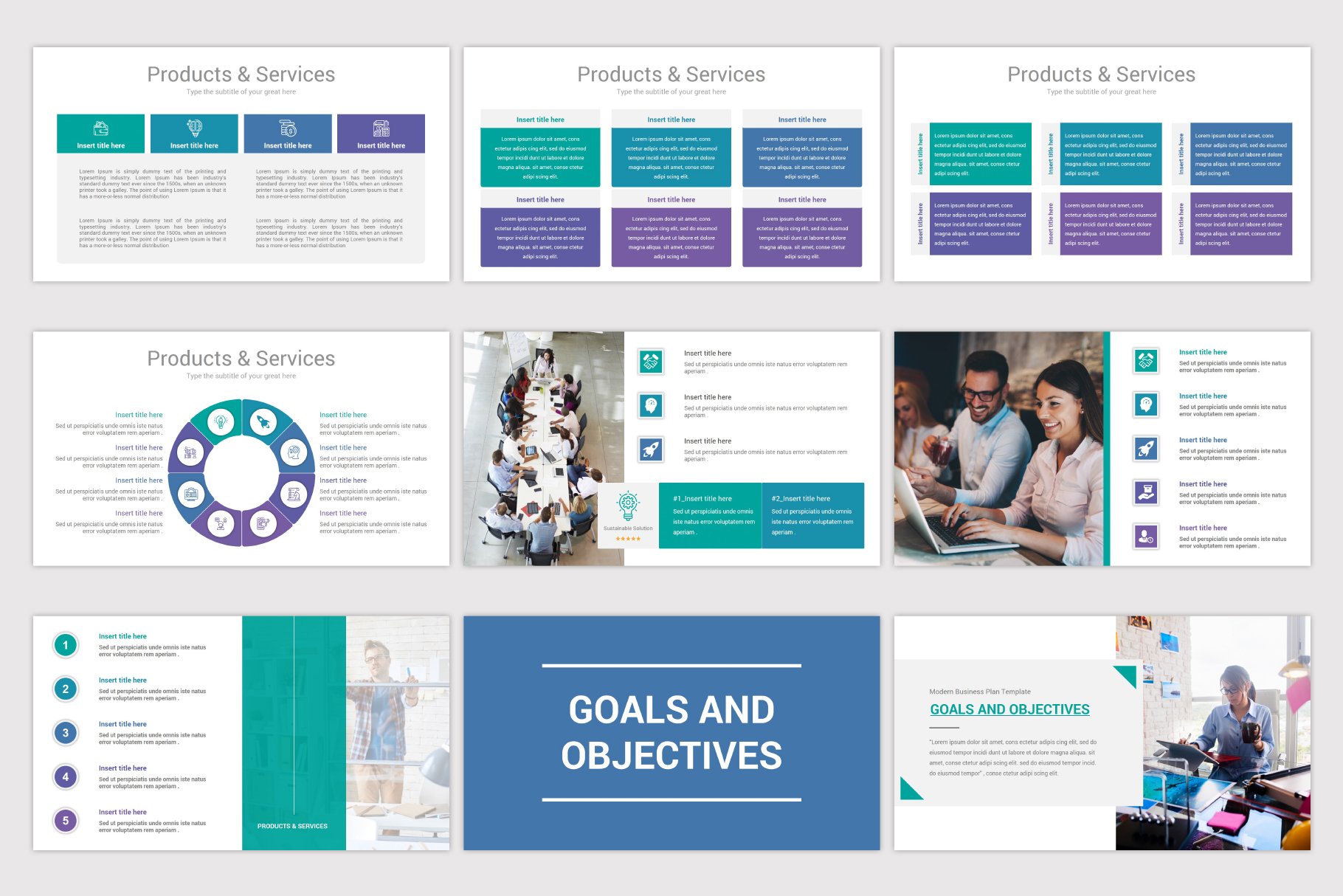 Business Plan Keynote Template example image 6
