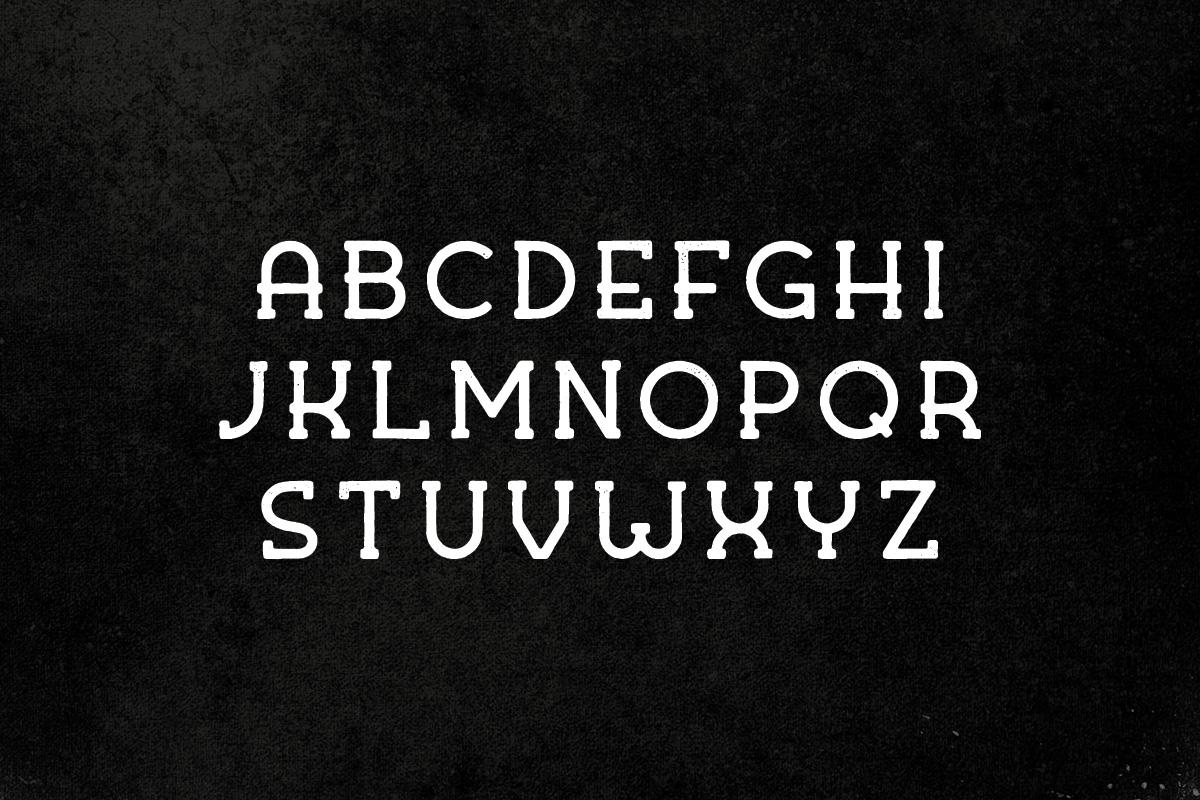 Kohm - Vintage Font example image 2