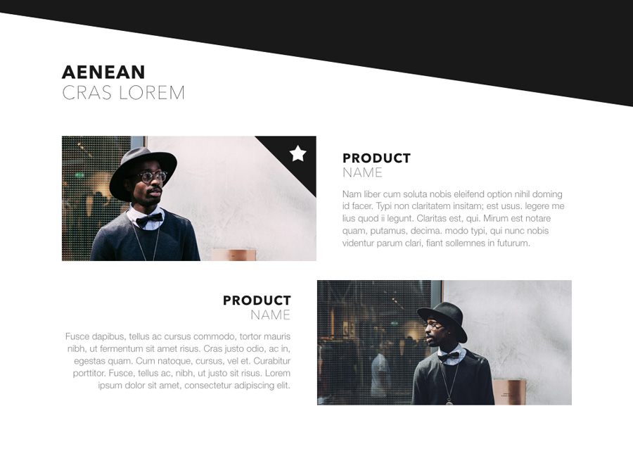 Fashion Edge PowerPoint Template example image 17