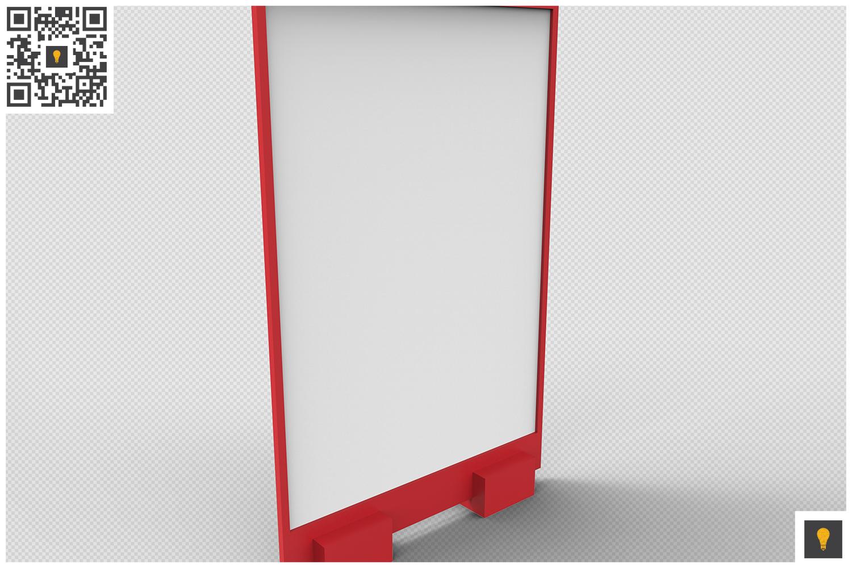 Flyer Display 3D Render example image 3