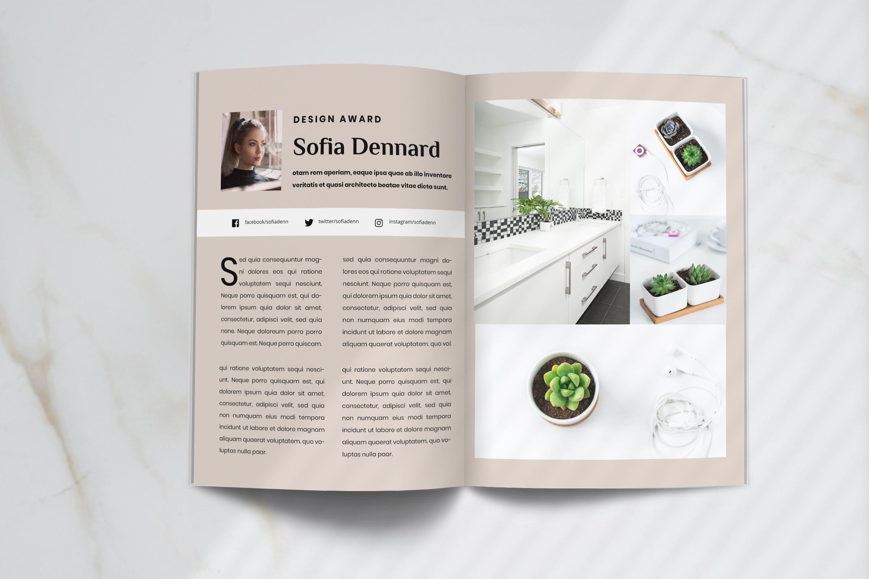Futura - Interior Magazine Template example image 8