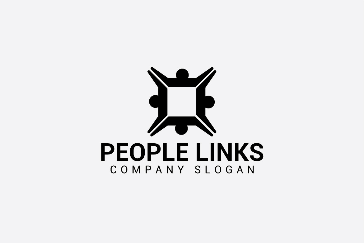 PEOPLE LINKS logo example image 3