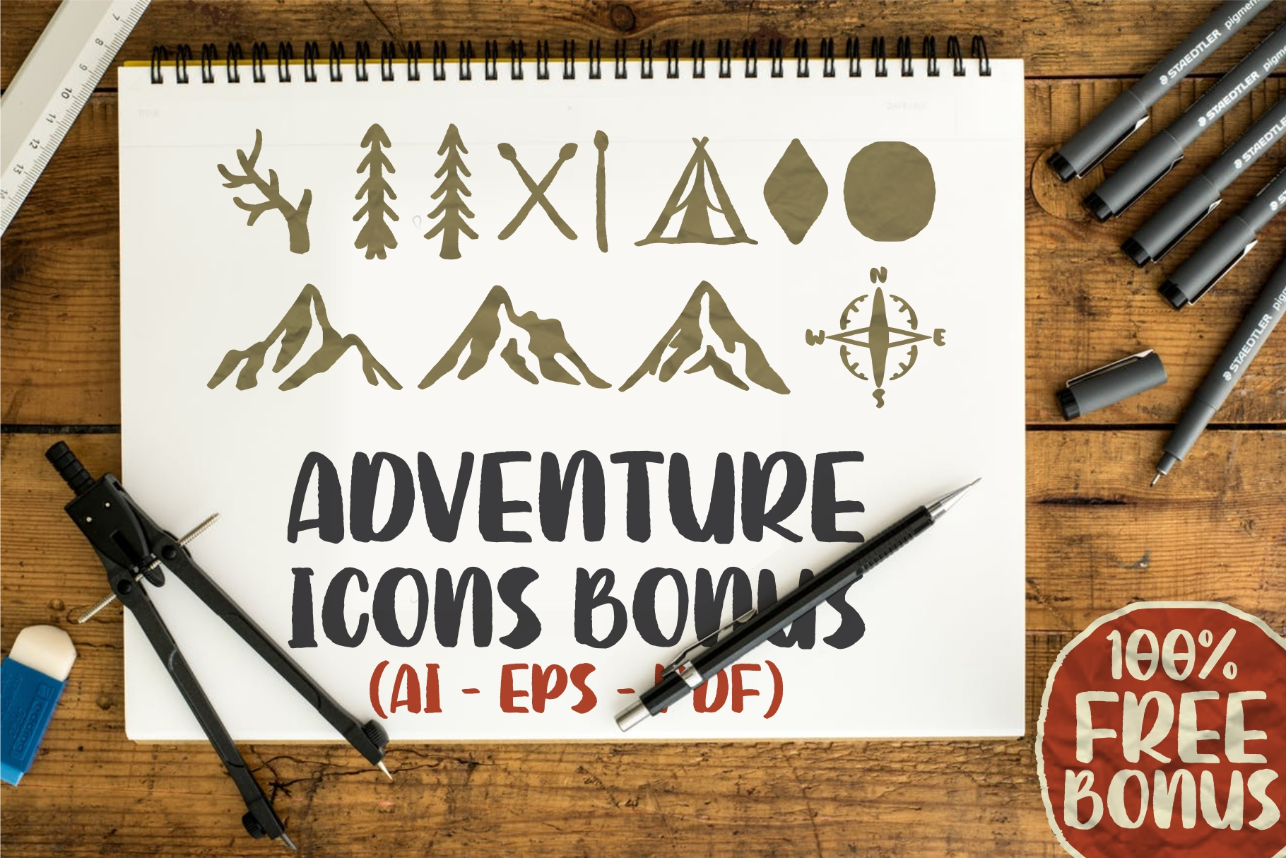 SUTTER CAMP - Adventure Typeface example image 10