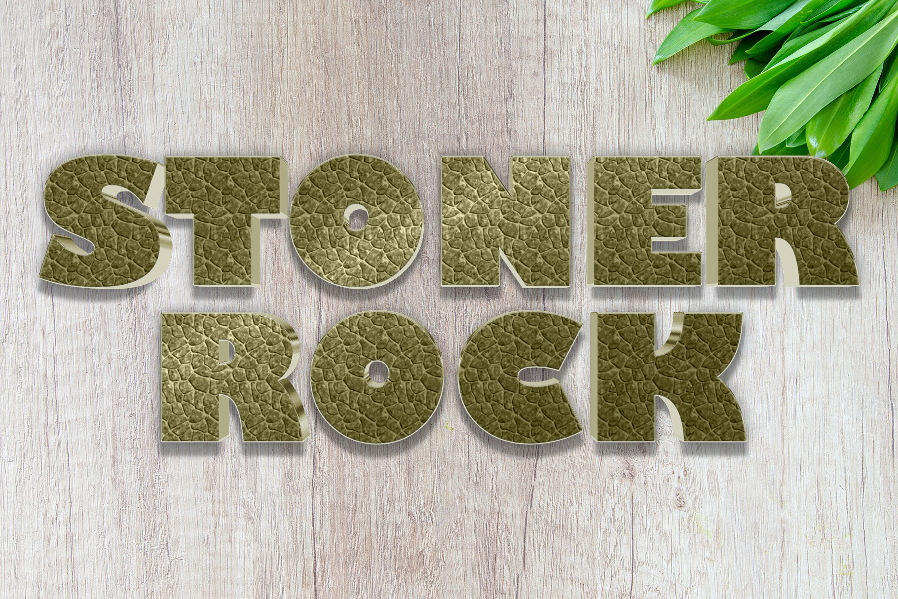 10 Stone / Rock Layer Style for Photoshop example image 6