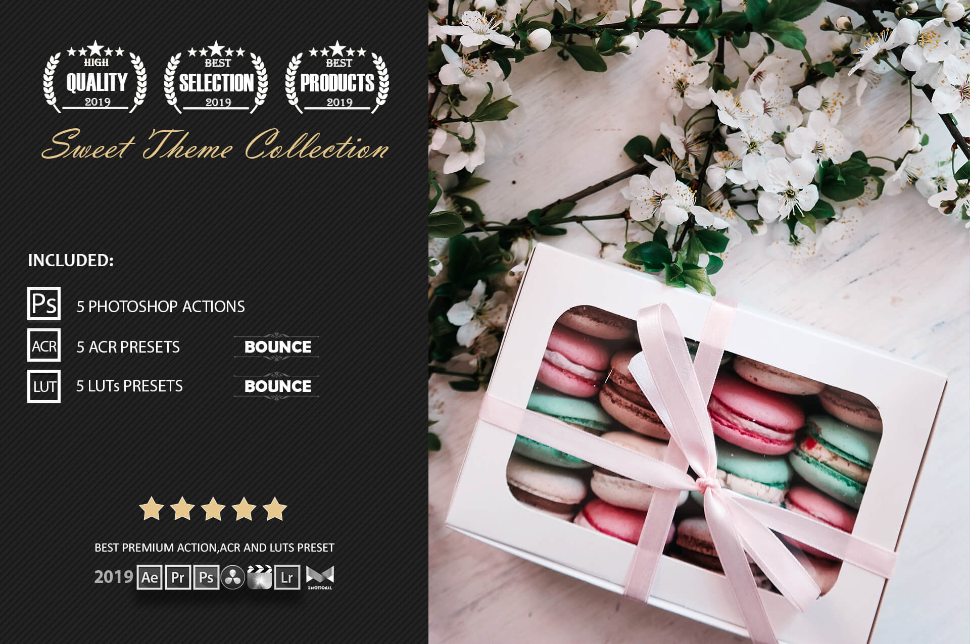 Neo Sweet Color Grading photoshop actions example image 2