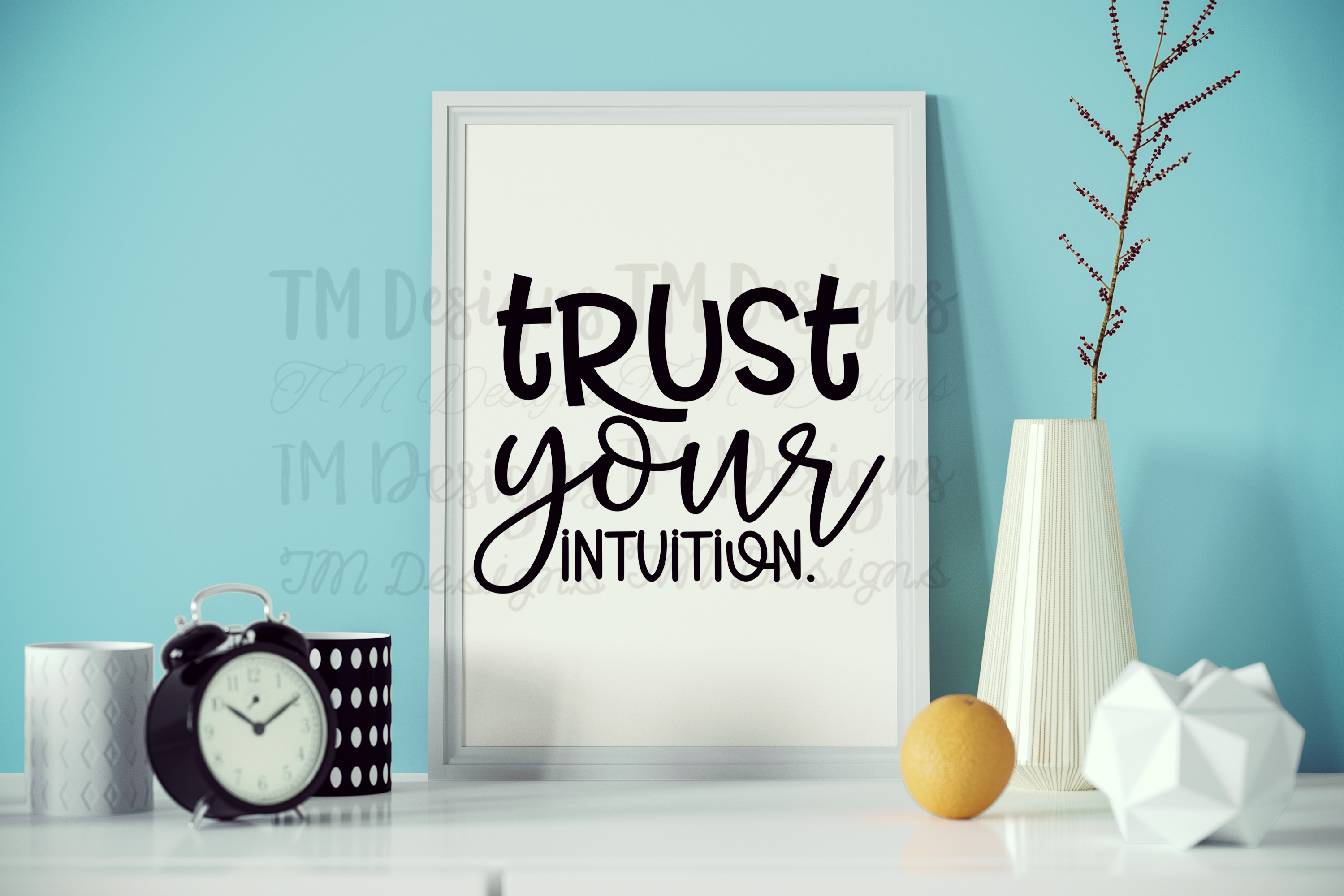 Trust Your Intuition SVG example image 1