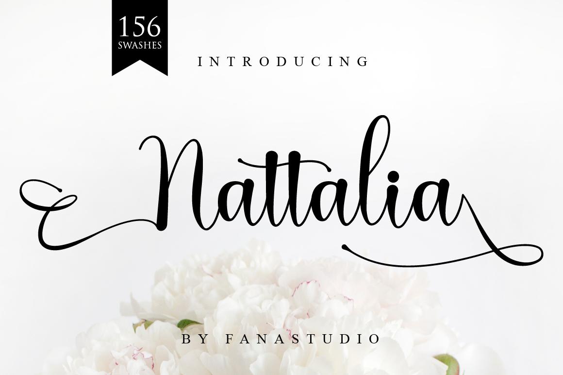 Nattalia Script example image 20