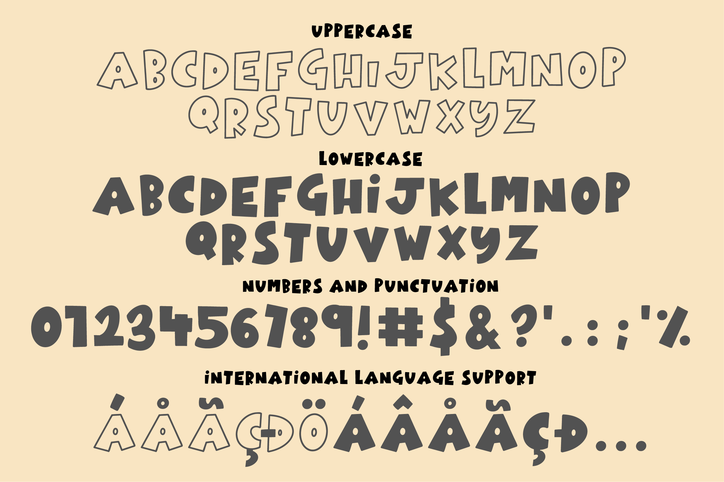Stinky Cheese Font Duo example image 8