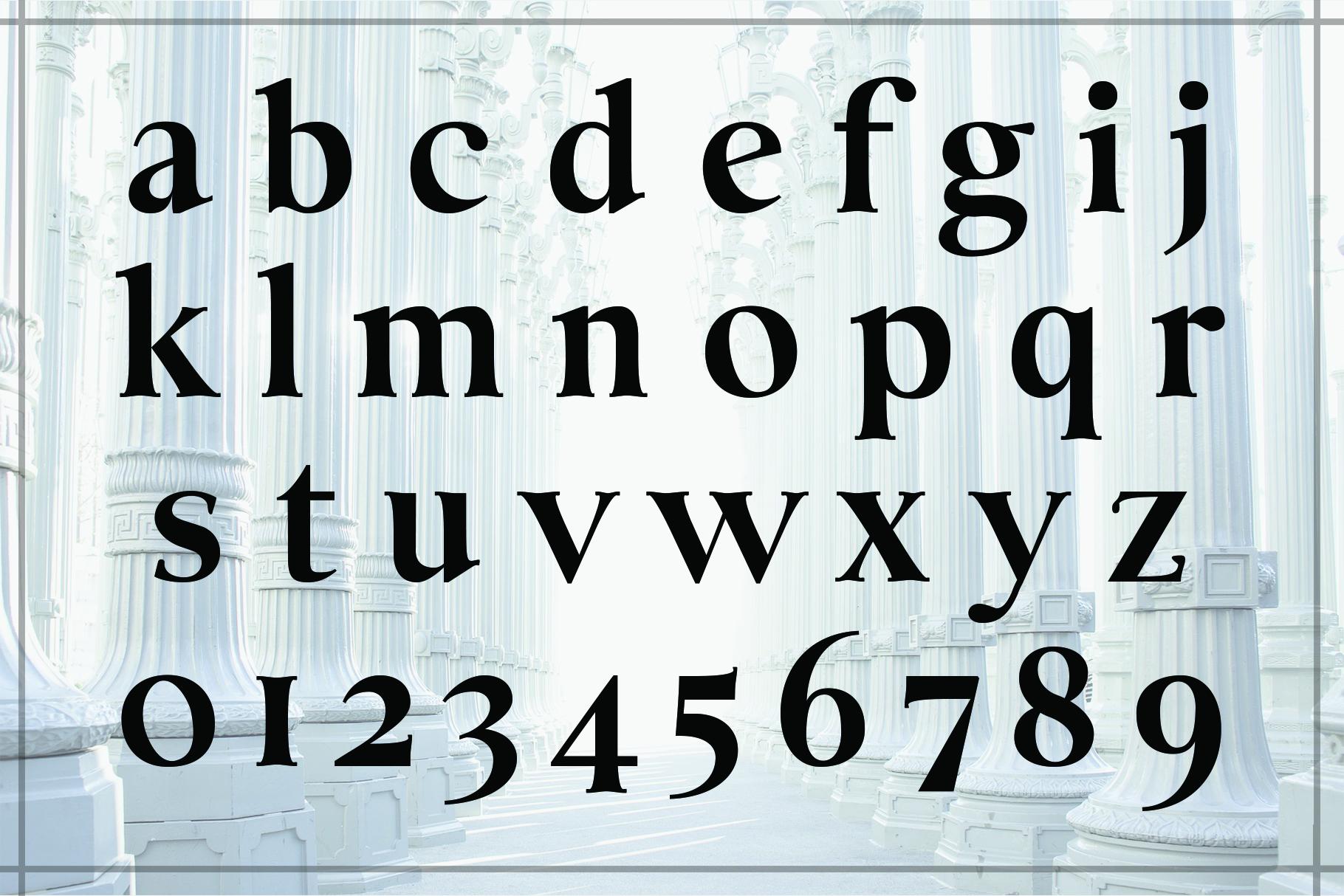 BERNARD, A Classic Typeface example image 4