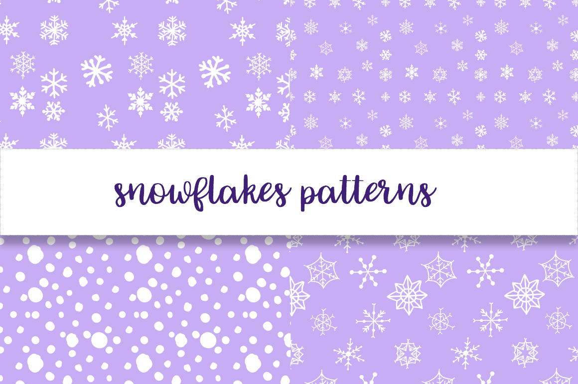 Christmas snowflakes example image 6