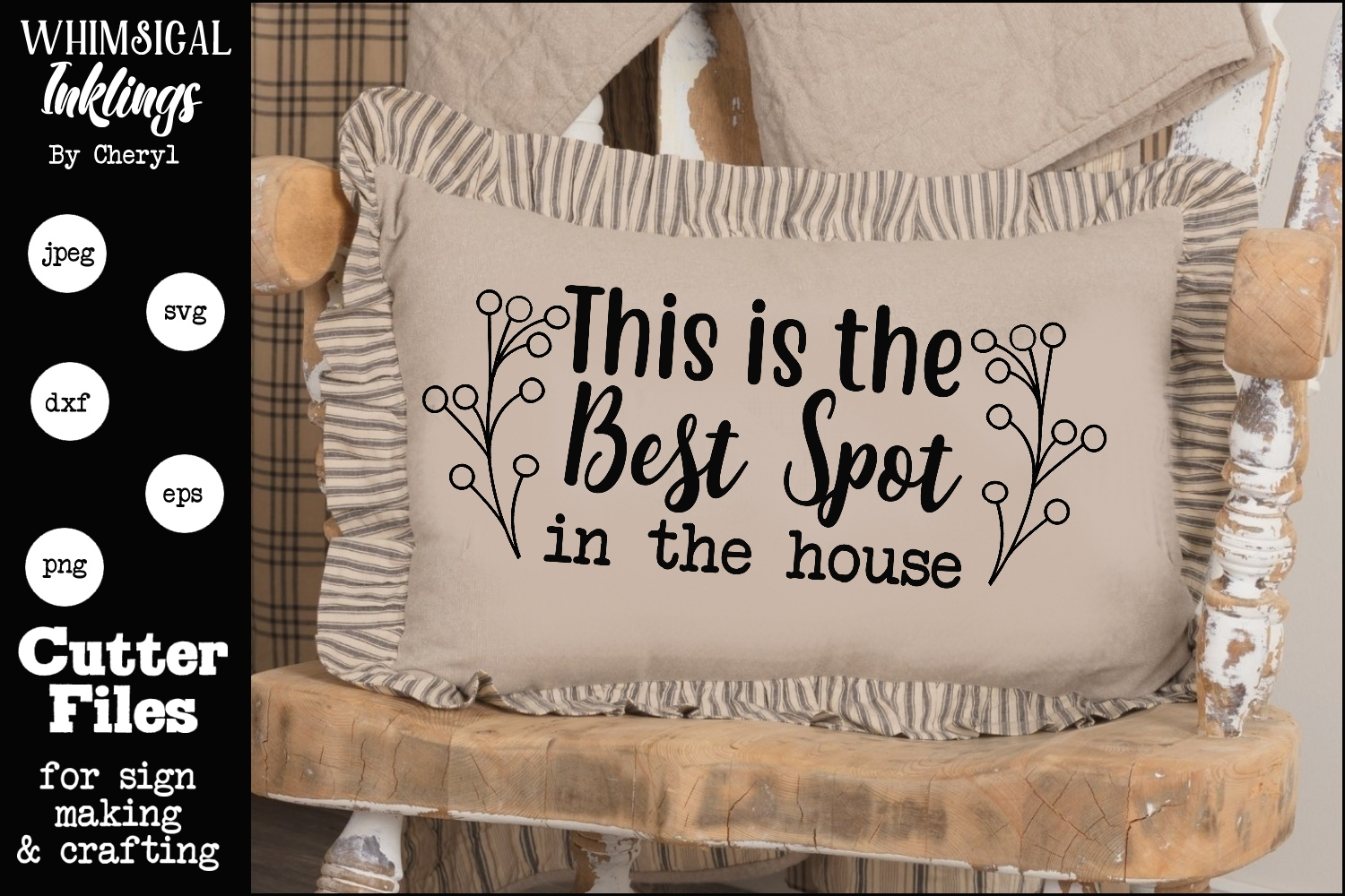 Best Spot In The House SVG example image 1