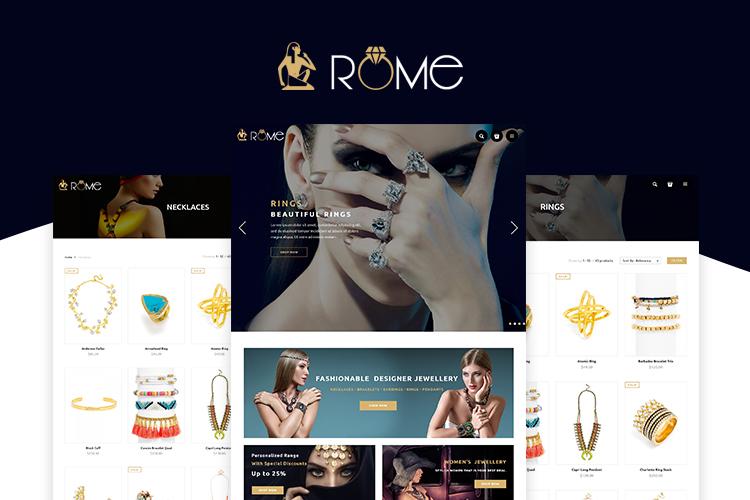 Rome Shopify Theme example image 1