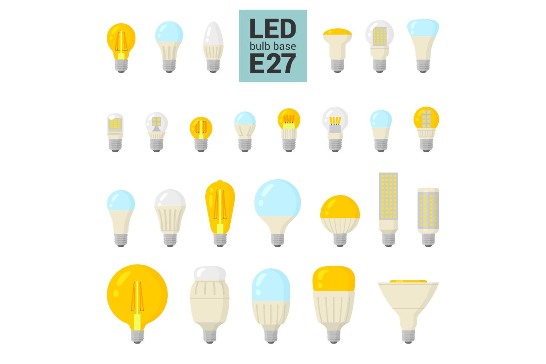 147 colorful LED light bulbs example image 2