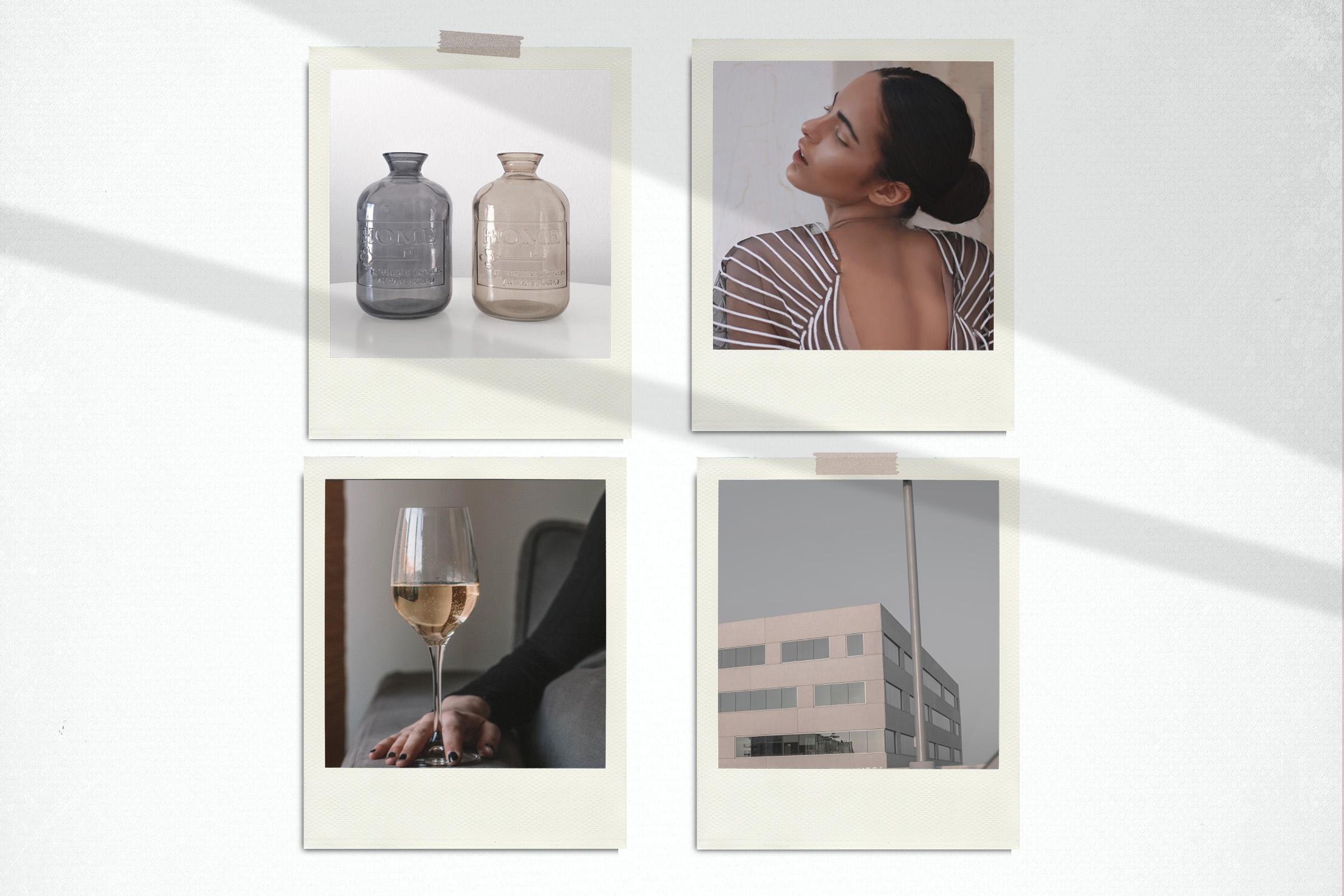 Mood Board Mock Up - PSD - Scene Creator example image 4