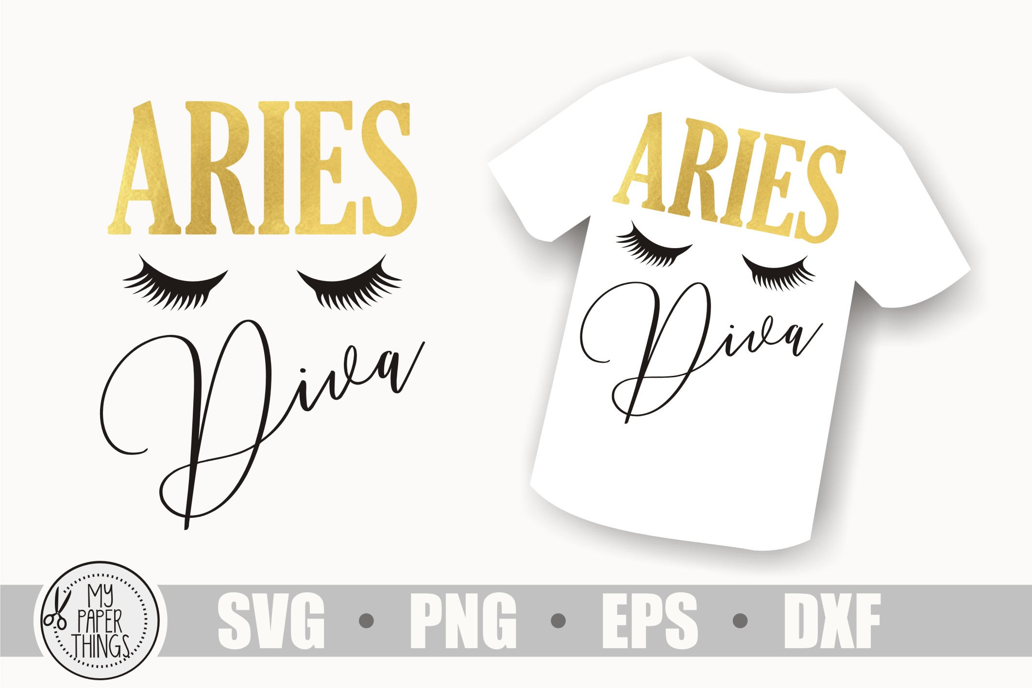 Aries svg bundle, Birthday svg, Zodiac sign example image 5