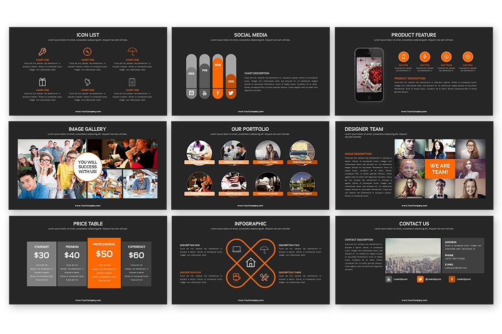 Grand PowerPoint Template example image 8