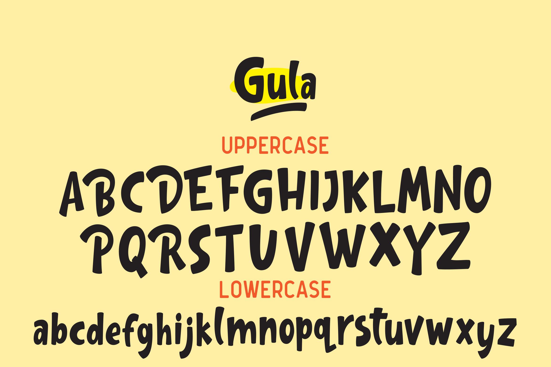 Gula - Playful Font example image 11