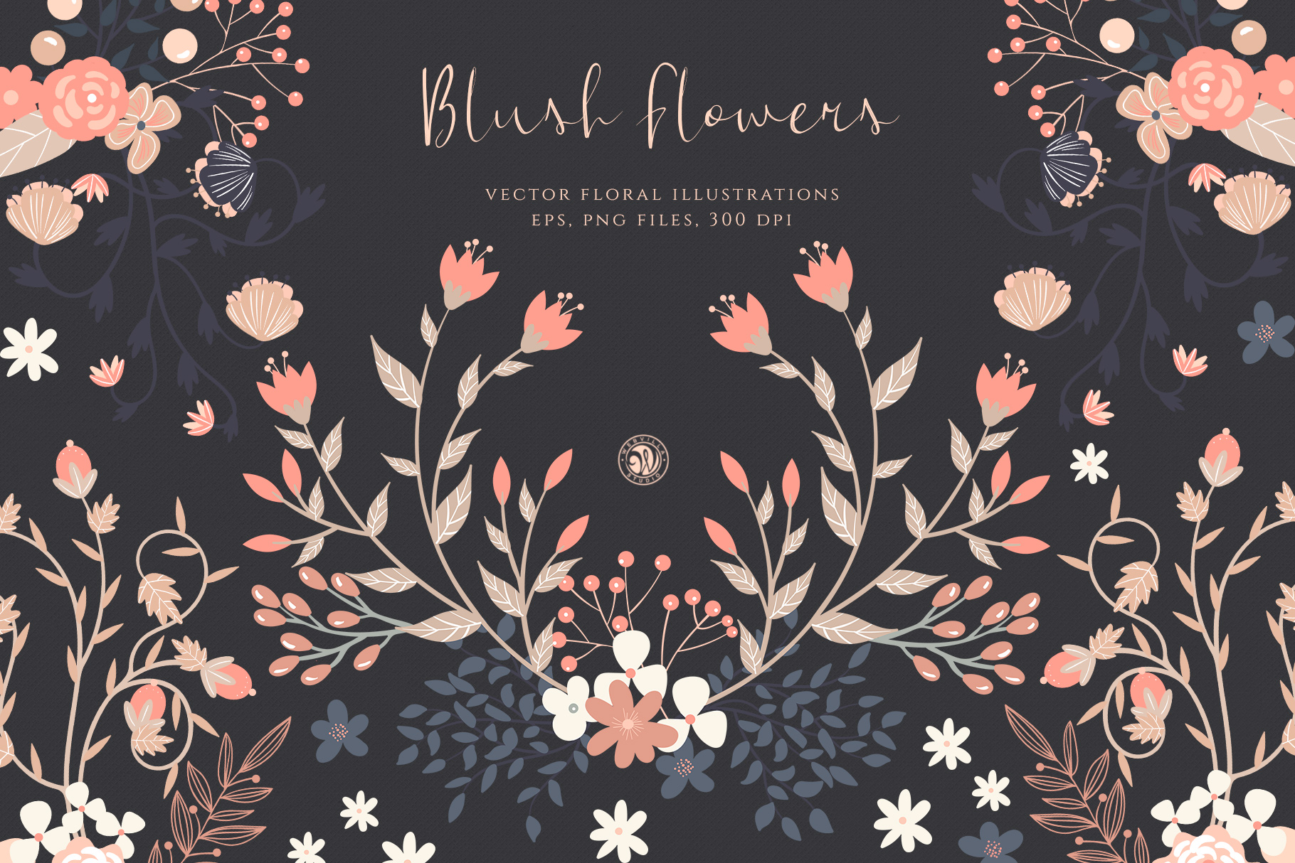 Blush Flowers example image 1