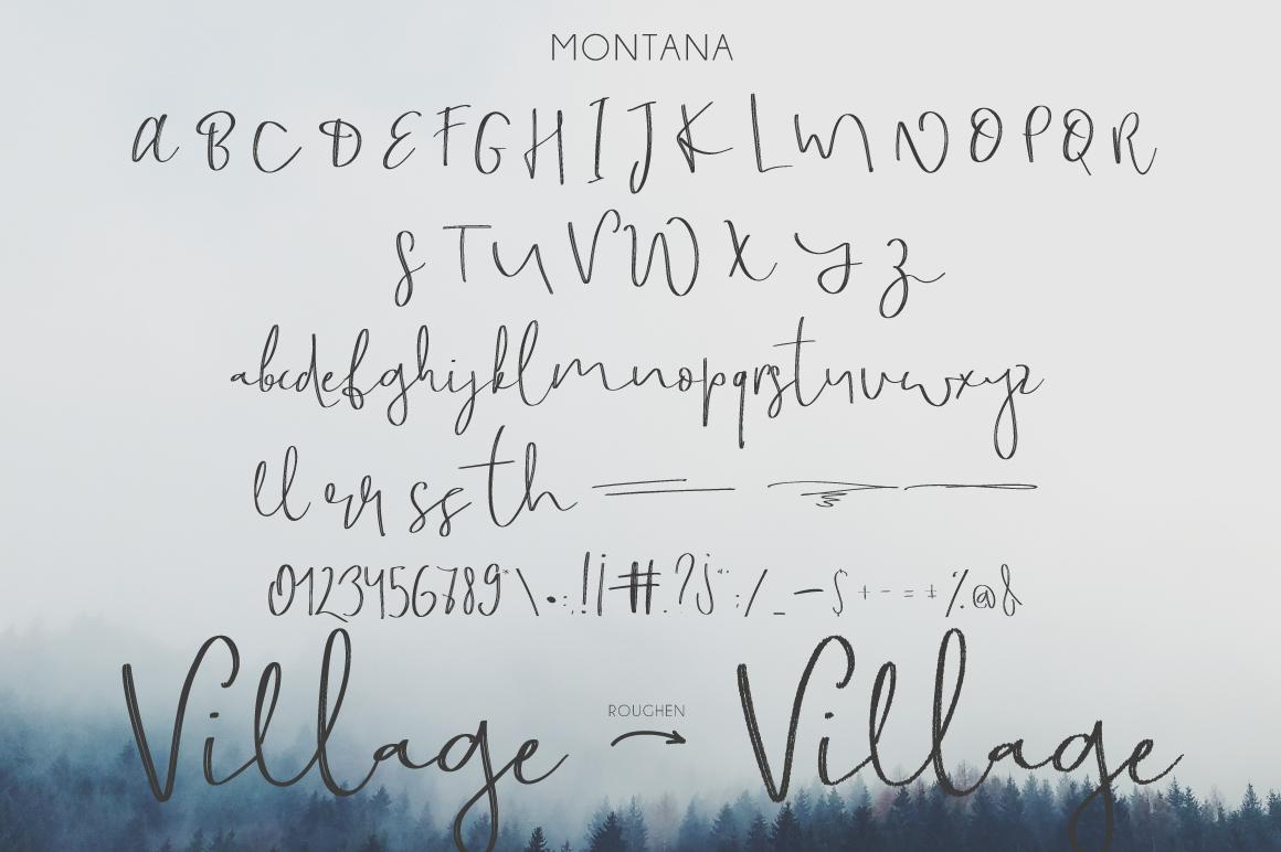 Montana Script example image 2