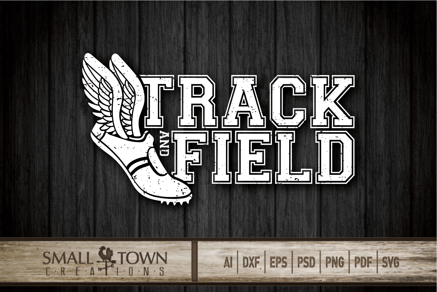 Track and Field, Team sport, Track logo, PRINT, CUT, DESIGN example image 10