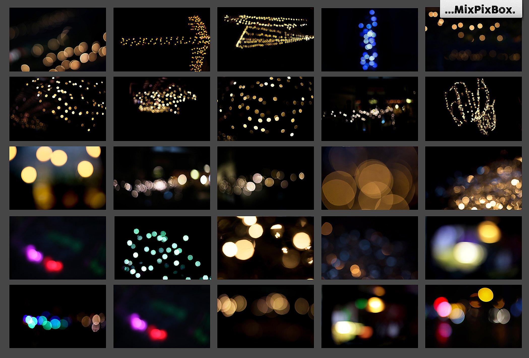 100 Bokeh Photo Overlays example image 8