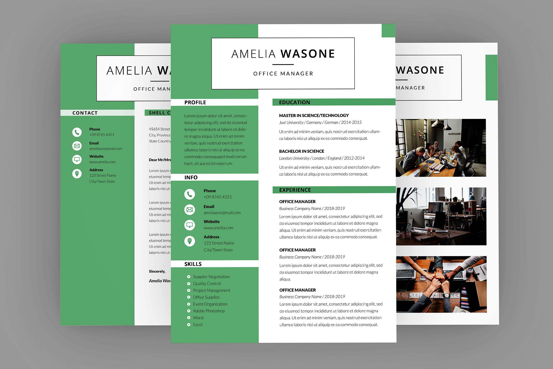 CV Vitality Resume Designer example image 1