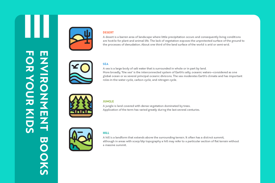 Environment App Icons example image 3