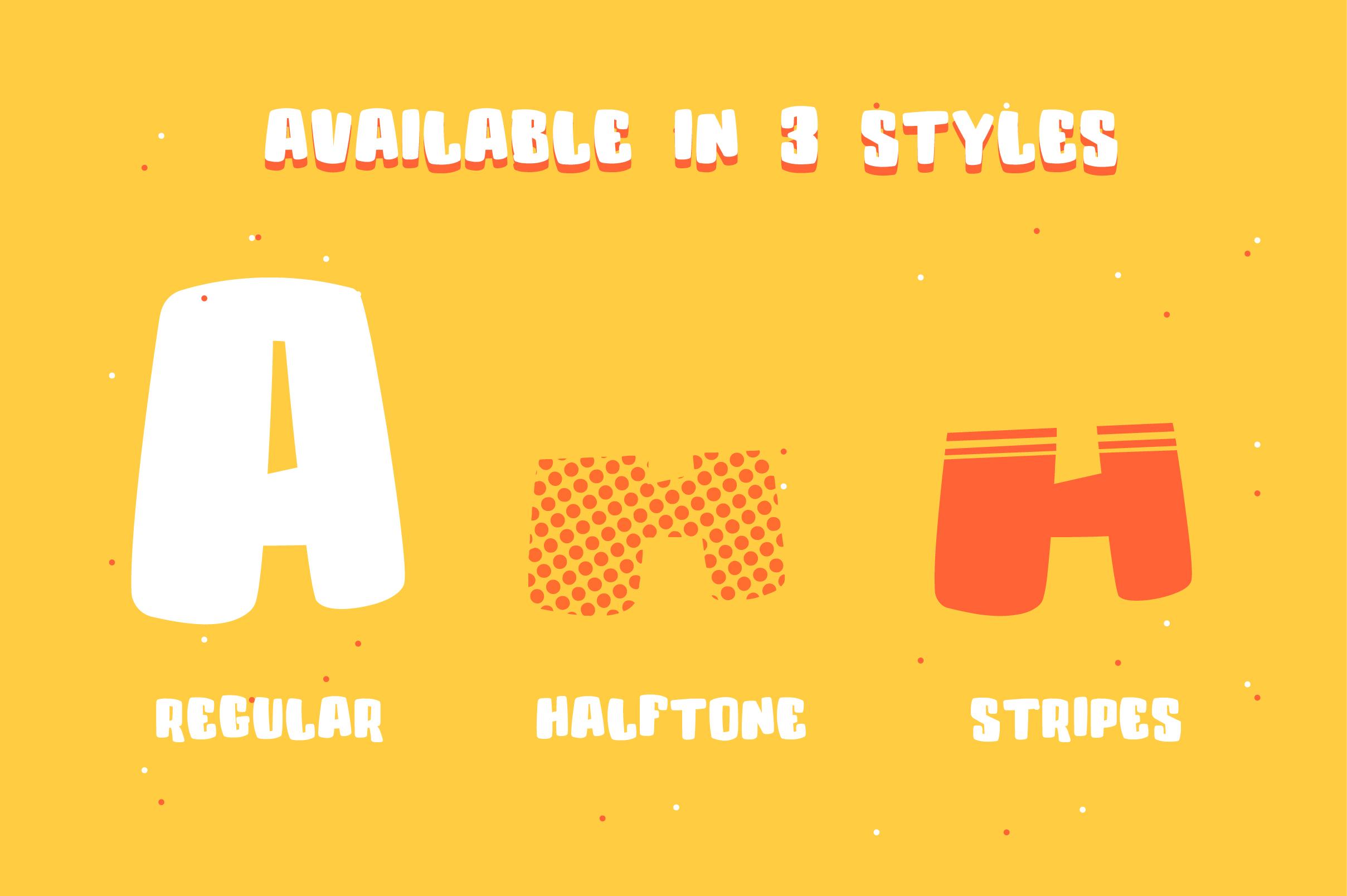 Colenak - Funny Layered Typeface example image 2