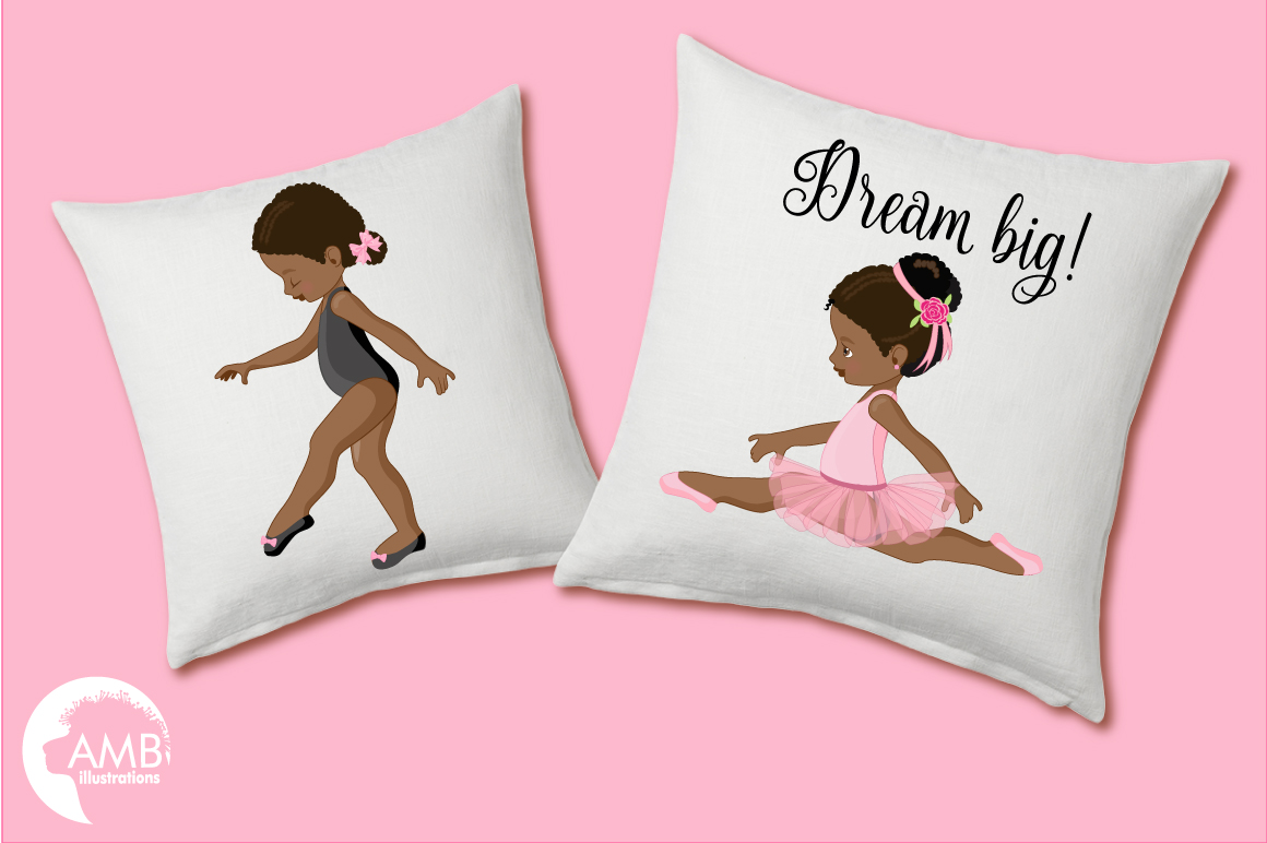 Ballerina Beauties clipart, graphics illustration AMB-1362 example image 2