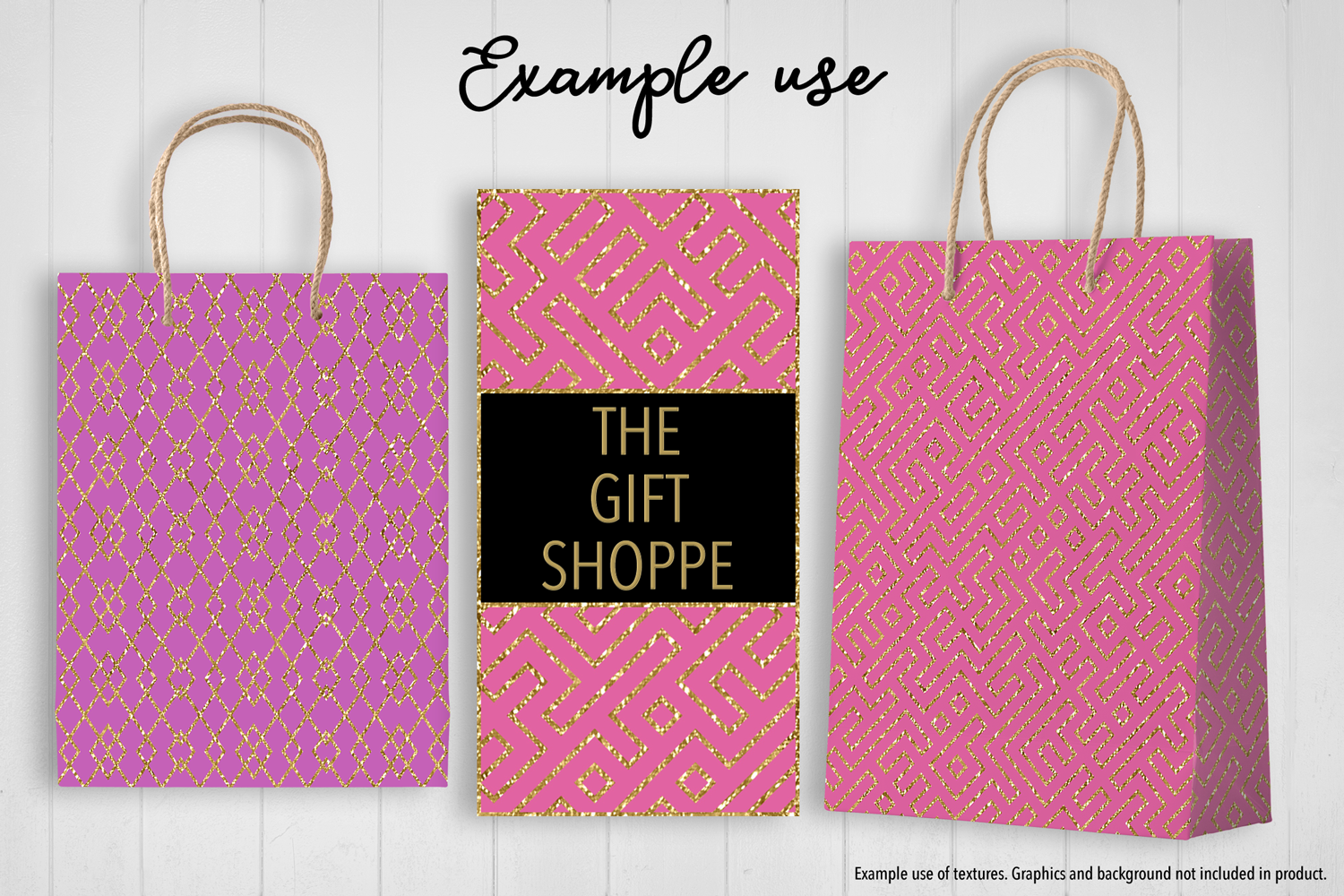 Pink and Gold Glitter example image 4