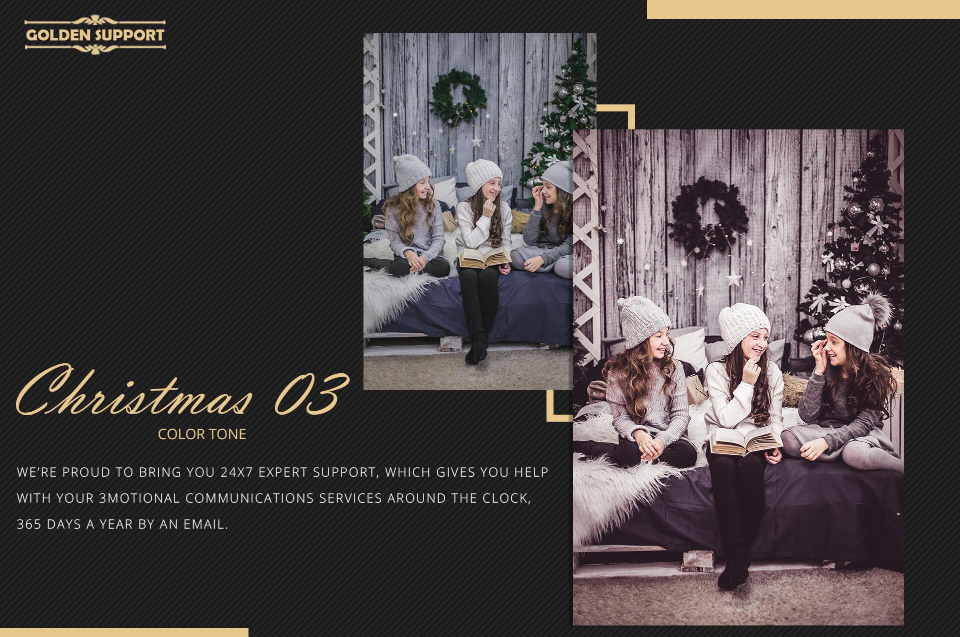 Christmas Theme Color Grading 03 Premium Lightroom,LUTs,ACR