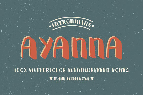 Ayanna Handwritten Font example image 2